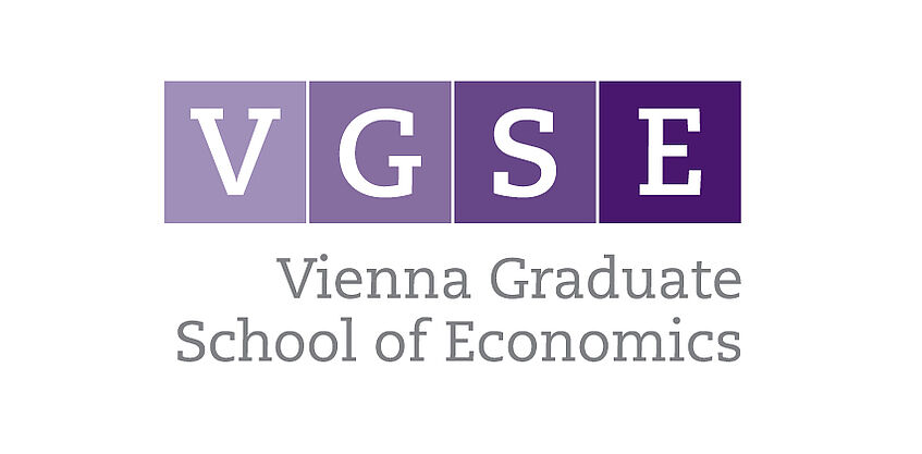 Logo of the Vienna Graduate School of Economics (VGSE)
